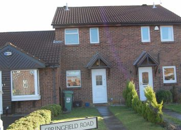 Thumbnail 2 bed terraced house to rent in Springfield Road, Barton Hills, Luton