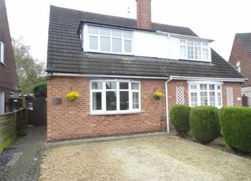 Thumbnail 3 bedroom semi-detached house for sale in Mayfield Way, Barwell, Leicester