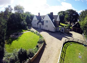 Thumbnail 5 bedroom detached house for sale in The Old Rectory, Church Lane, Sproughton
