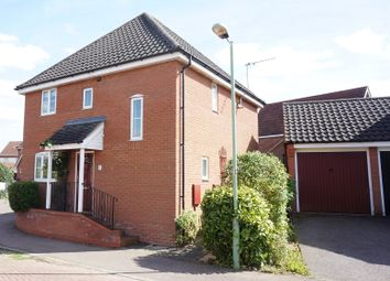 Thumbnail 3 bed detached house for sale in John Childs Way, Bungay