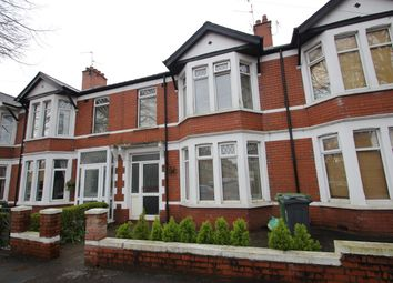 Thumbnail 3 bed terraced house to rent in Maindy Road, Cardiff