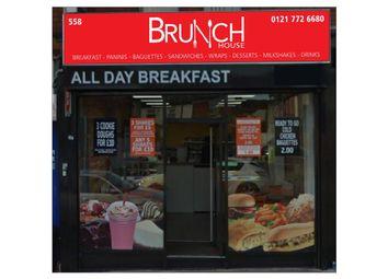 Thumbnail Restaurant/cafe for sale in Green Lane, Birmingham