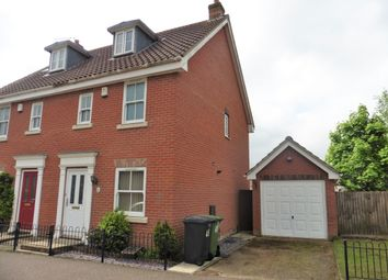 Thumbnail 3 bed town house to rent in Griston Road, Watton