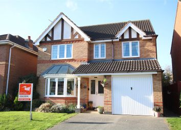 Thumbnail 4 bed detached house for sale in Sympson Close, Lincoln