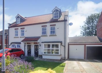 Thumbnail 3 bed town house for sale in Rectory Park, Sturton By Stow