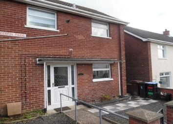 Thumbnail 2 bed terraced house to rent in Deerfin Park, Newtownabbey