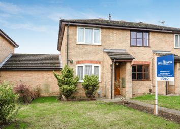 Thumbnail 2 bed end terrace house for sale in Compton Close, St. Neots, Cambridgeshire
