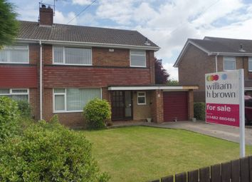Thumbnail 3 bedroom semi-detached house for sale in St. Leonards Road, Beverley