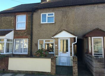 Thumbnail 2 bed terraced house to rent in Cowper Road, Sittingbourne, Kent
