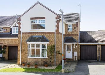 Thumbnail 3 bedroom link-detached house for sale in Creed Road, Oundle, Peterborough