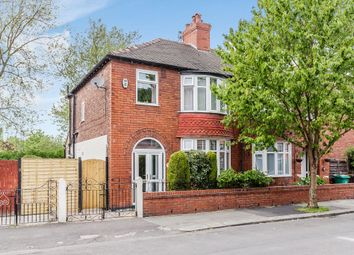 Thumbnail 3 bedroom semi-detached house for sale in Lincoln Avenue, Manchester, Greater Manchester