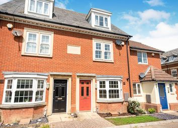 Thumbnail 3 bed terraced house to rent in Hestia Way, Kingsnorth, Ashford