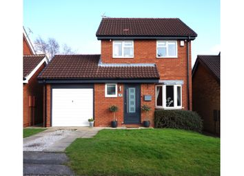 Thumbnail 3 bed detached house for sale in Pykestone Close, Oakwood