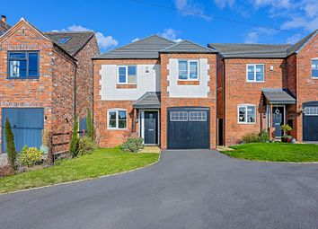 Thumbnail 4 bed detached house for sale in Tamworth Road, Wood End, Atherstone