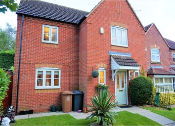 Thumbnail 3 bed detached house for sale in Skinners Way, Swadlincote