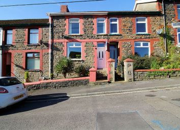 Thumbnail 3 bed terraced house for sale in Gellideg Road, Maesycoed, Pontypridd
