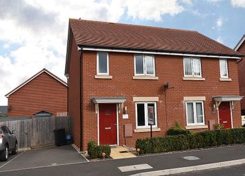 Thumbnail 3 bedroom semi-detached house for sale in Mayfield Way, Cranbrook