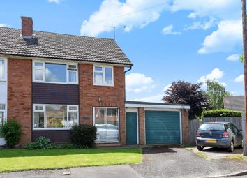 Thumbnail 3 bed semi-detached house for sale in Clehonger, Hereford