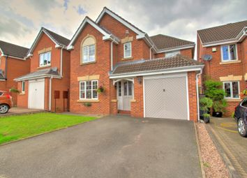 Thumbnail 4 bed detached house for sale in Kingfisher Close, Sheldon, Birmingham