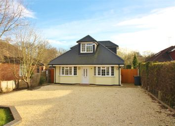 Thumbnail 5 bedroom detached bungalow for sale in Chobham, Woking, Surrey