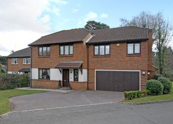 Thumbnail 5 bed detached house to rent in Burleigh Park, Cobham