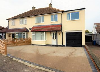 Thumbnail 4 bedroom semi-detached house for sale in Mansfield Close, Orpington
