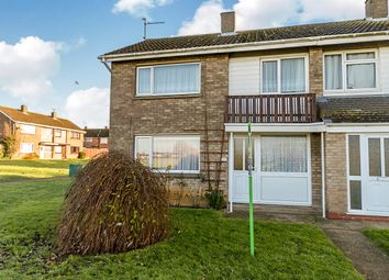 Thumbnail 3 bed terraced house for sale in Stukeley Close, Stanground, Peterborough