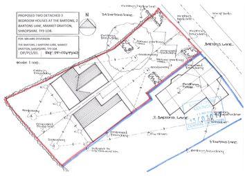 Thumbnail Land for sale in Bartons Lane, Market Drayton