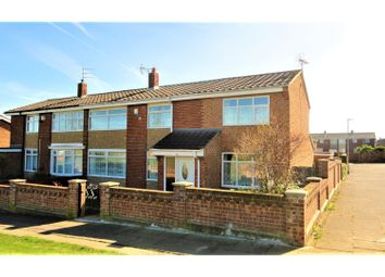 Thumbnail 4 bed end terrace house for sale in Dodsworth Walk, Hartlepool
