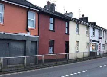 Thumbnail 3 bedroom terraced house for sale in Hele Road, Torquay