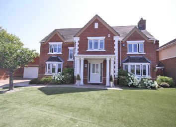 Thumbnail 5 bed detached house for sale in Bleriot Crescent, Whiteley, Fareham