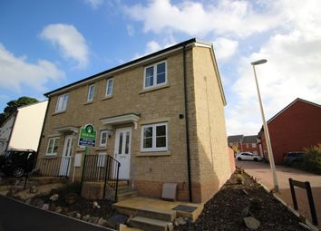 Thumbnail 2 bed semi-detached house for sale in Poppy Close, Newton Abbot