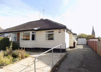 Thumbnail 2 bed semi-detached bungalow for sale in Kingsdale Crescent, Bradford