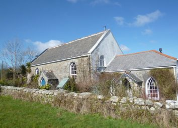 Thumbnail 4 bed detached house for sale in Sancreed, Penzance