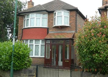 Thumbnail 3 bed detached house to rent in Seaford Avenue, Wollaton, Nottingham