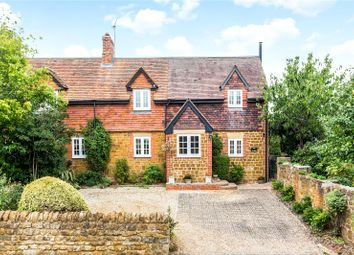 Thumbnail 3 bed semi-detached house for sale in Main Street, Hanwell, Banbury, Oxfordshire