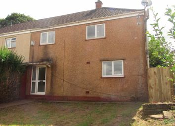 Thumbnail 3 bed semi-detached house for sale in Cilgerran Place, Winch Wen, Swansea