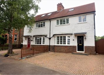 Thumbnail 4 bed semi-detached house to rent in New North Road, Reigate
