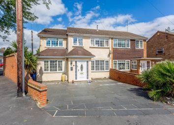 Thumbnail 3 bed semi-detached house for sale in Oates Road, Romford