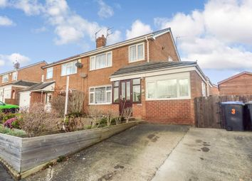 Thumbnail 3 bed semi-detached house for sale in Greenways, Sunnybrow, Crook