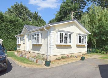Thumbnail 2 bed mobile/park home for sale in Park Lane Meadows, Godmanchester, Huntingdon, Cambridgeshire