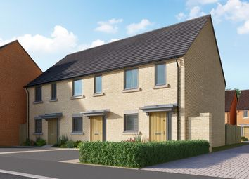 "Thumbnail 2 bed semi-detached house for sale in ""The Ashley"" at Heron Road, Northstowe, Cambridge"