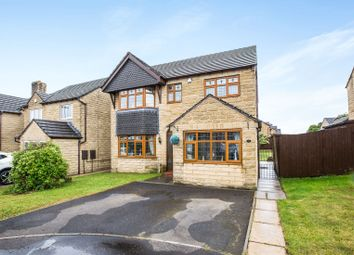 Thumbnail 4 bed detached house for sale in Trinity Close, Holmfield, Halifax