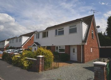 Thumbnail 3 bed semi-detached house for sale in Campbell Road, Market Drayton