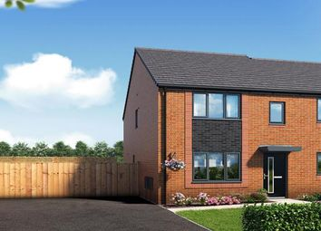"Thumbnail 3 bed property for sale in ""The Leathley At Riverbank View"" at Concord Place, Salford"
