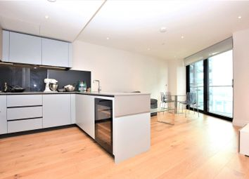 Thumbnail 2 bed flat to rent in Riverlight Quay Four, London