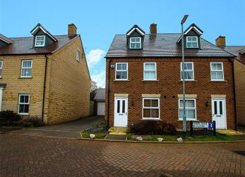 Thumbnail 3 bed semi-detached house for sale in Heron Road, Leighton Buzzard