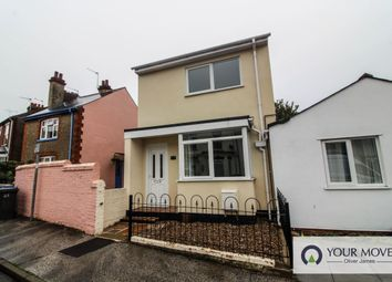 Thumbnail 3 bed detached house for sale in Burton Street, Lowestoft