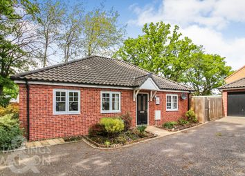 Thumbnail 2 bed detached bungalow for sale in Pine Grove, Framingham Earl, Norwich