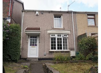 Thumbnail 3 bed end terrace house for sale in Broadway, Pontypridd
